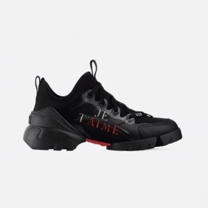 Dior Black Dioramour D-Connect Sneakers
