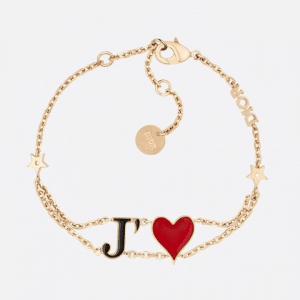 Dior Gold-Tone Dioramour Bracelet