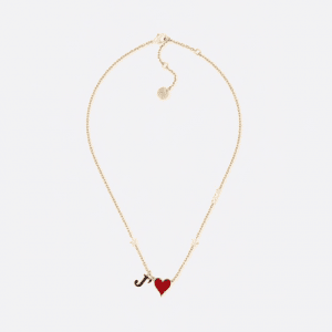 Dior Gold-Tone Dioramour Necklace