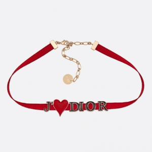 Dior Grosgrain Ribbon Dioramour Choker