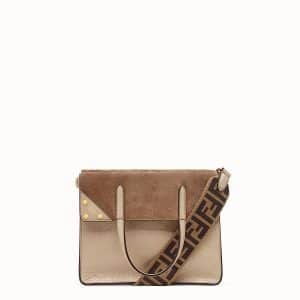 Fendi Beige Flip Medium Bag
