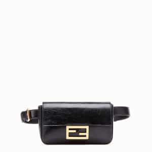 Fendi Black Baguette Belt Bag