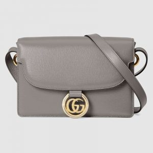 Gucci Dusty Grey Small Shoulder Bag