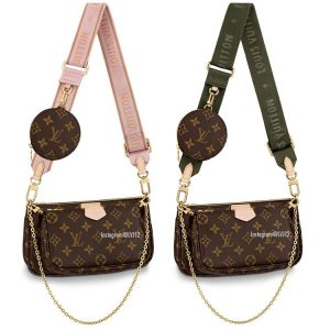Louis Vuitton Multi-Pochette Bag with Crossbody Strap