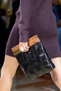 Bottega Veneta Black Intrecciato Wooden Clutch Bag - Spring 2020