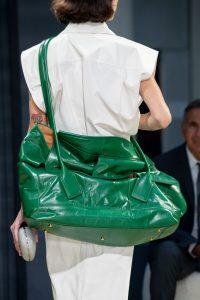 Bottega Veneta Green Oversized Tote Bag Spring 2020