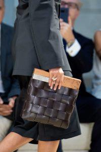 Bottega Veneta Intrecciato Wooden Clutch Bag - Spring 2020