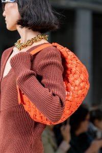 Bottega Veneta Orange Braided Hobo Bag - Spring 2020