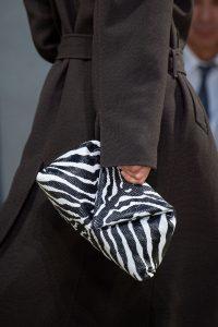 Bottega Veneta V Zebra Clutch Bag - Spring 2020