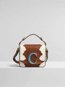 Chloe 'C' bag Baroque Patchwork Bag