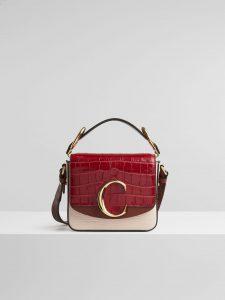 Chloe 'C' bag Tricolor Pink Bag