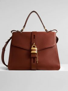 Chloe Large Aby Day Bag - Brown