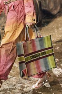 Dior Tie Dye Book Tote Bag - Spring 2020