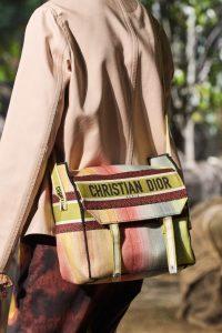 Dior Rainbow Tie Dye Messenger Textile Tote - Spring 2020