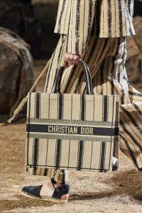 Dior Textile Logo Book Tote Bag - Spring 2020