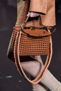 Fendi Large Woven Peekaboo Bag - Spring 2020