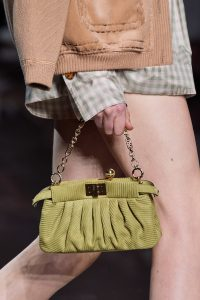 Fendi Peekaboo Clutch Fabric - Spring 2020
