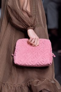 Fendi Pink Terry Makeup Bag - Spring 2020