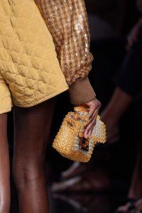 Fendi Plexi Baguette Woven Bag - Spring 2020