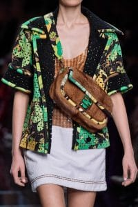 Fendi Pony Hair Sling Bag - Spring 2020