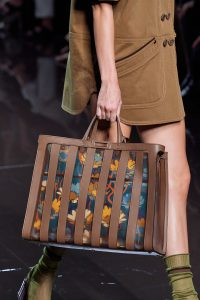 Fendi Printed Seethrough Print Peekaboo Bag - Spring 2020