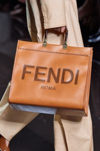 Fendi Roma Logo Tote Bag Leather - Spring 2020