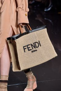 Fendi Roma Woven Beach Tote Bag - Spring 2020