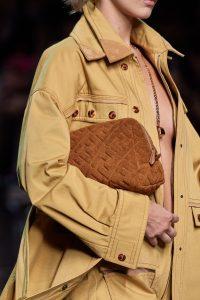 Fendi Terry Brown Makeup Bag - Spring 2020
