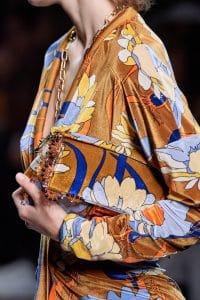 Fendi Velour Print Baguette Bag - Spring 202
