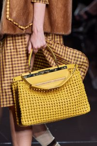 Fendi Yellow Peekaboo Bag - Spring 2020