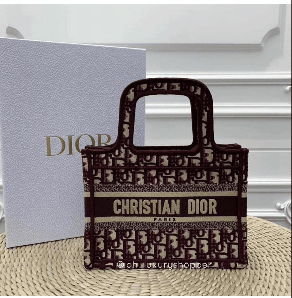 Dior Mini Book Tote - Cruise 2020