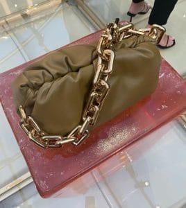 Bottega Veneta Camel Chain Pouch Shoulder Bag - Spring 2020