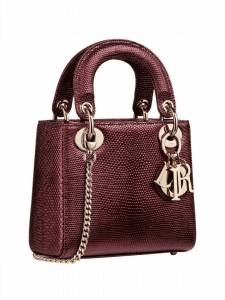 Lady Dior Mini Bag - Snake