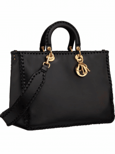 Dior Braided Diorrissimo Tote Bag