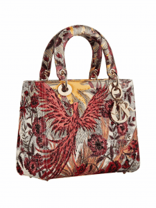 Dior Phoenix Canvas Lady Dior Bag