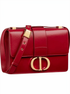 Dior Red Patent 30 Montaigne Bag
