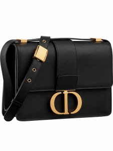 Dior Black GHW 30 Montaigne Bag
