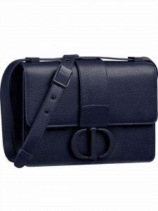 Dior Navy Ultra Matte 30 Montaigne Bag