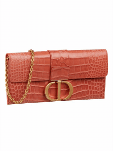 Dior Croc Montaigne Clutch