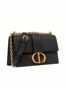 Dior Black 30 Montaigne Bag