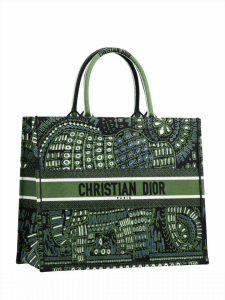 Dior Book Tote Toile Bag