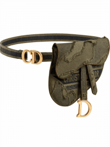 Dior Camouflage Saddle Belt Bag