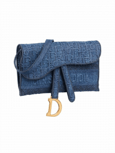 Dior Denim Oblique Belt Bag - Cruise 2020