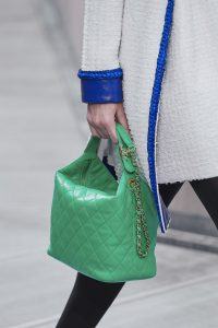 Chanel Lime Green Hobo Quilted Bag - Spring 2020