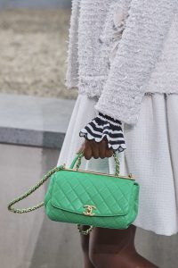 Chanel Lime Green Top Handle Bag - Spring 2020