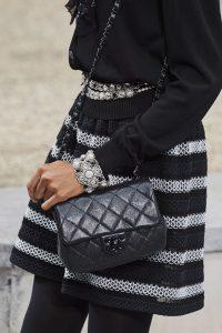 Chanel Metallic Mini Flap Bag - Spring 2020