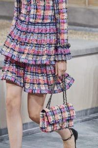 Chanel Plaid Tweed Flap Bag - Spring 2020