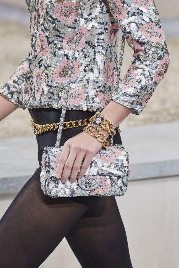 Chanel Sequin Floral Flap Bag - Spring 2020