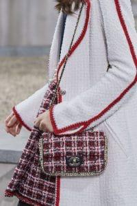 Chanel Tartan Tweed Flap Bag - Spring 2020