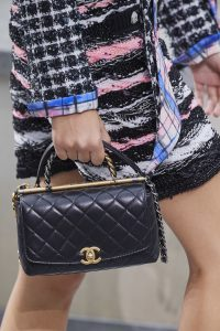 Chanel Top Handle Quilted Bag - Spring 2020